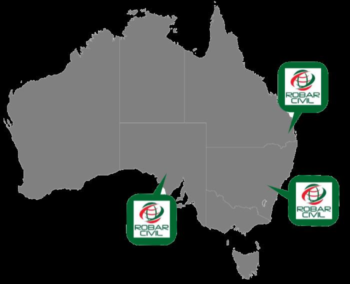 robar australia map 700px